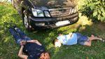 Lexus Фацевича нашли: глава Нацполиции Князев показал связанных грабителей