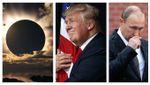 Кінець ери Путіна та імпічмент Трампу, – астролог оприлюднив наслідки сонячного затемнення
