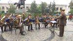 У Києві військові оркестри привітали українців з Днем Незалежності