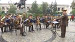 В Киеве военные оркестры поздравили украинцев с Днем Независимости