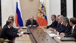 Путін скликав Радбез РФ для обговорення ситуації в Україні