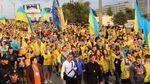 """Українці передали скандальний """"привіт"""" Путіну зі стадіону Харкова: відео"""