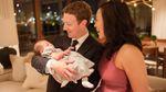 Марк Цукерберг опублікував зворушливе фото з новонародженою донькою