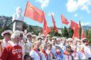Російські окупанти відкрили у Криму пам'ятник Леніну