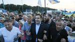Госпогранслужба назвала количество участников прорыва с Саакашвили