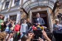 Во львовский отель, где проживает Саакашвили, пришли правоохранители и пограничники, – источник