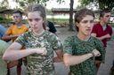"""Дети Азова: чему учат в детском лагере """"Азовец"""""""