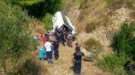 Автобус с туристами упал в пропасть в Турции: есть погибшие и много травмированных