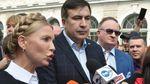 Довго просив її заплести косичку, і вона це зробила, – Саакашвілі про стосунки з Тимошенко