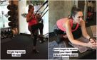 Вагітна Джессіка Альба показала свої заняття в спортзалі: надихаючі фото