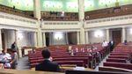 Як депутати розглядали судову реформу у напівпорожньому залі: промовисті фото