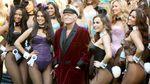 Український художник намалював шарж на засновника Playboy Х'ю Хефнера