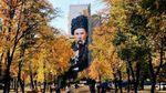 Гигантский Шевченко украшает многоэтажку в Харькове:  сети в восторге