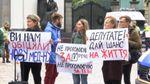 Вимагаючи проголосувати за медреформу, активісти влаштували незвичний перфоманс під Радою