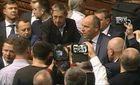 Парубій закрив засідання Ради: депутати продовжують блокування