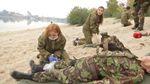 Військові провели спортивно-медичні змагання для молоді
