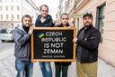 """""""Украина, прости"""": Чехи устроили флешмоб в поддержку украинцев"""