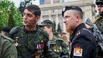 """Боевики показали, какие надгробия поставили """"Гиви"""" и """"Мотороле"""" в Донецке"""