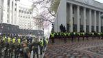 Здание Рады в Киеве окружено двойной цепью правоохранителей: появились фото