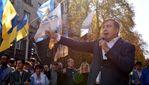 Саакашвілі порівняв Порошенка з Януковичем та закликав активістів не розходитися