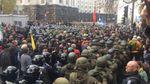 У поліції назвали кількість постраждалих внаслідок сутичок у Києві