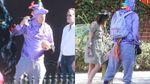 Известный актер пришел в костюме фиолетового единорога на Хэллоуин: курьезные фото