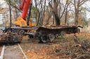 З підбитого танка терористів зроблять символ мужності: фото