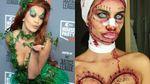 Жертва хирурга или Мадонна: какими необычными костюмами на Хэллоуин поразили знаменитости