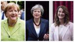 Forbes обнародовал рейтинг самых влиятельных женщин года