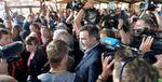 Суди оштрафували грузинських та українських журналістів за прорив кордону разом із Саакашвілі