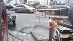 Две улицы Киева заливает горячей водой: опубликованы фото