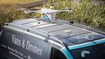 Mercedes-Benz запускает службу доставки товаров с помощью квадрокоптера