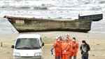 До берегів Японії прибило човен-привид з останками 8 осіб