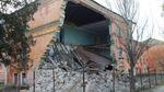 В окупованому Криму завалилась одна з будівель університету: фото і відео