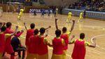 Сборная Украины обыграла итальянских чемпионов по футзалу