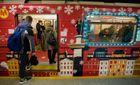 """По Варшаве курсирует """"рождественское"""" метро: очень атмосферные фото"""