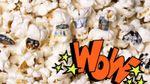 Художник создает картины на крошечном попкорне: удивительные фото