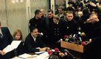 Політичні підсумки тижня: суд над Саакашвілі, прес-конференція Путіна, зміна закону про НАБУ