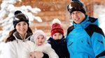 Кейт Міддлтон, принц Вільям та їхні діти знялися для різдвяної листівки: фото