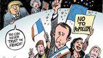 Каким был политический год в мире: подборка ярких карикатур