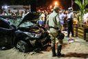 В Рио-де-Жанейро авто врезалось в толпу: фото