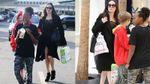 Анджелина Джоли засветила очень худые ноги в коротком платье: фото