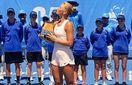 Марта Костюк про перемогу на турнірі в Австралії: Після матчу я опинилась в лікарні