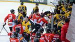 Украинские хоккеисты устроили массовую драку во время игры: фото, видео