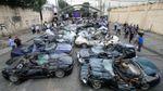 116 річниця митниці Філіппін: влада країни показово розтрощила 30 елітних автомобілів у присутності президента