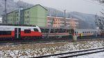 Два пасажирських потяги зіткнулися в Австрії, є жертви: фото з місця аварії