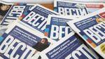 """У Києві невідомий з фарбою атакував дівчину, що роздавала газету """"Вести"""", – соцмережі"""