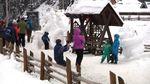 У Буковелі відбувся фестиваль снігових фігур