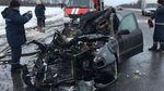 На Харківщині машина врізалася у вантажівку і спалахнула: багато загиблих