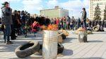 Палили шини та читали вірші: як у Запоріжжі вшановували Героїв Небесної Сотні